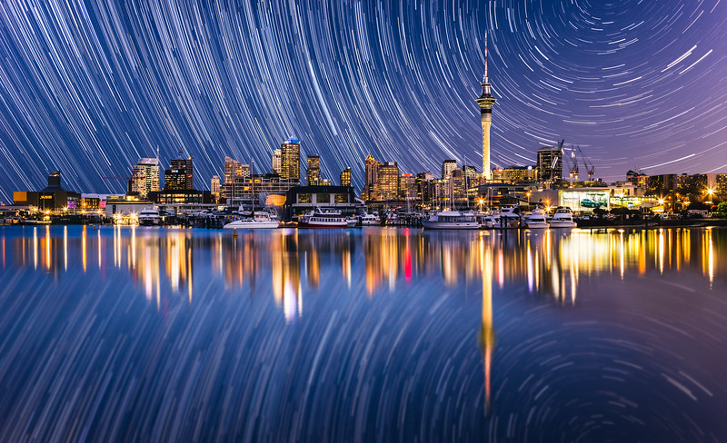 Auckland Star Trails