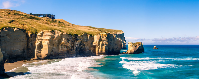 New Zealand Seaside Cliffs