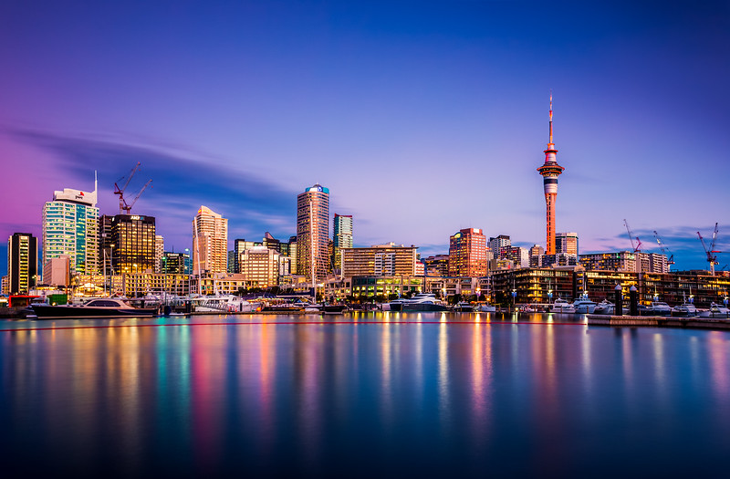 Auckland Twilight Glow
