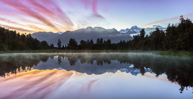 Lake Matheson Panorama #2