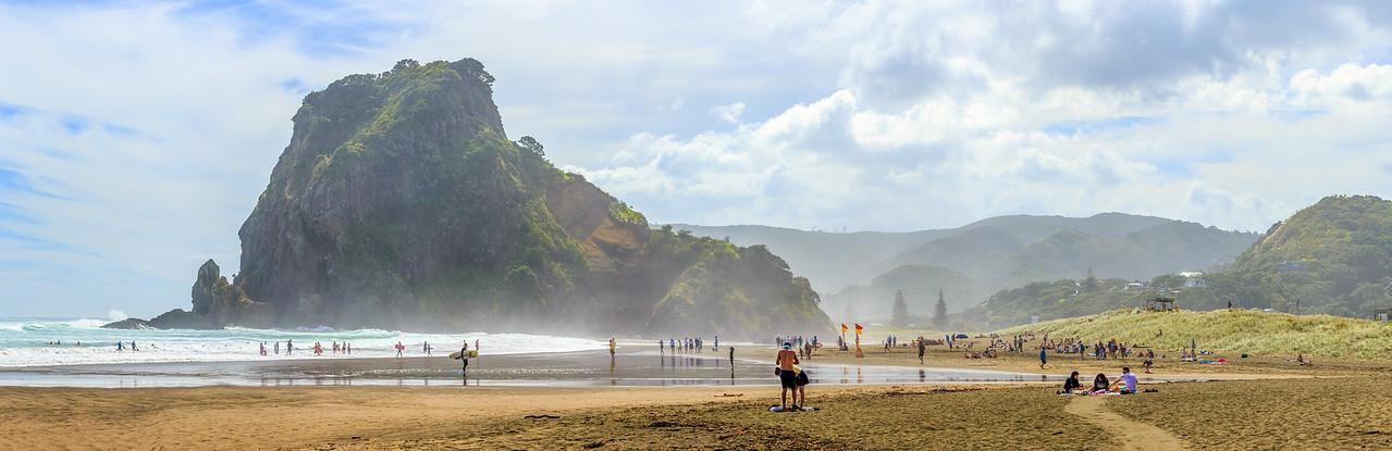 Piha Beach Pano