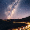 Godley Head Light Trails