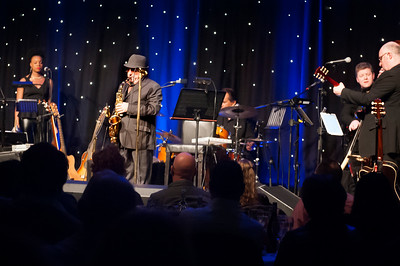 Van Morrison concert, 16 March, 2015, Europa Hotel, Belfast, Northern Ireland