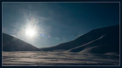 Hot Air Balloon, Svalbard.