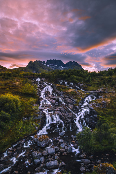 Lofoten Waterfall 3