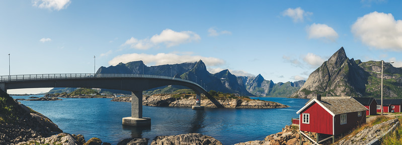 Hamnøy, Norway Pano
