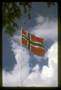 Flag, Oslo, Norway.