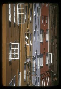 Trondheim, Norway, warehouses.