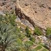 Wadi near Misfat Al Abreyeen mountain village, Oman.