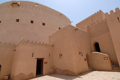 The Nizwa fort, Nizwa, Oman.
