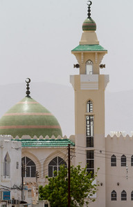Mosque and minaret - Oman