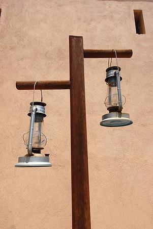 Lamps at Nizwa fort, Nizwa, Oman.