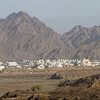 Village with mountains in background - Oman