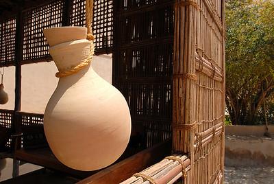 Ceramic water jug, Nizwa, Oman.