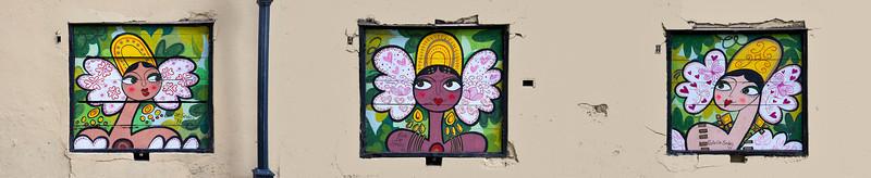 Wall art, Casco Viejo, Panama City, Panama.