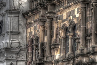 Catedral Metropolitana, Cathedral Square, Casco Viejo, old town Panama City, Panama.