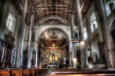La Iglesia de la Merced, Casco Viejo, Panama City, Panama - HDR.