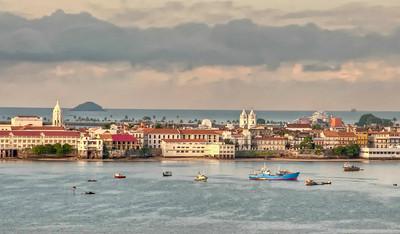Panama City, Panama Casco Viejo, or old town.