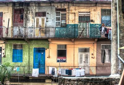 Apartments in Casco Viejo, Panama City, Panama.