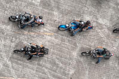 Bikers, Panama City, Panama.