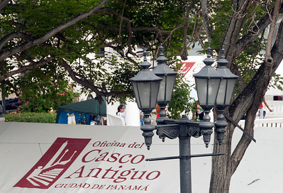 Casco Viejo, old town Panama City, Panama.