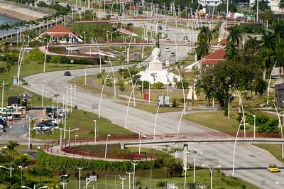 Downtown Panama City, Panama.