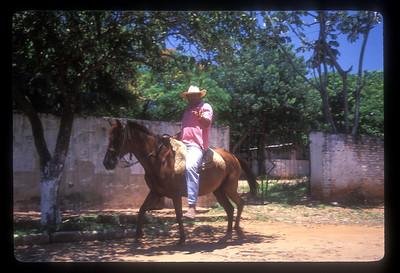 Cowboy, rural Paraguay.