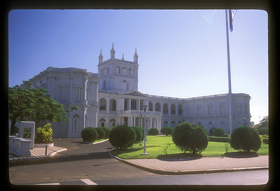 The Presidential Palace, Asuncion, Paraguay.