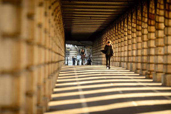 France; Ile de France;Paris (75);Pont de Bercy // France; Ile de France; Paris. Bercy bridge