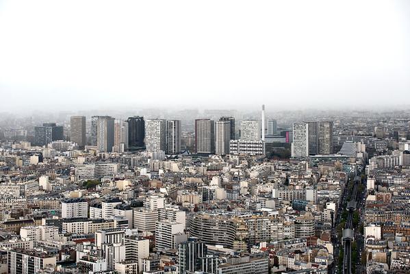 France, Paris (75), vue générale et la quartier de Beaugrenelle // France, Paris, General view of Paris' Beaugrenelle district