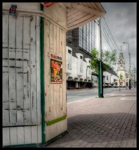 Empty Street, Lima, Peru - HDR.