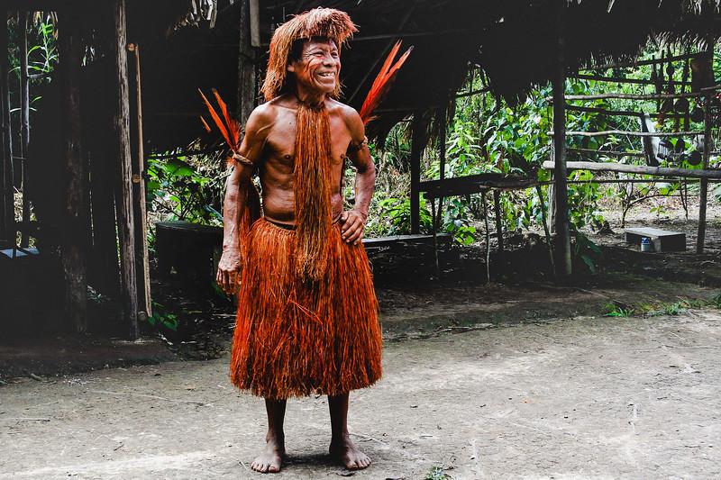 Peruvian Head Tribesman