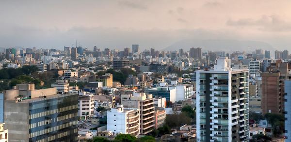 Lima, Peru Skyline.