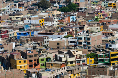 View of cityscape - Peru