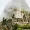Ruins Of Machu Picchu With Huayna Picchu In The Background