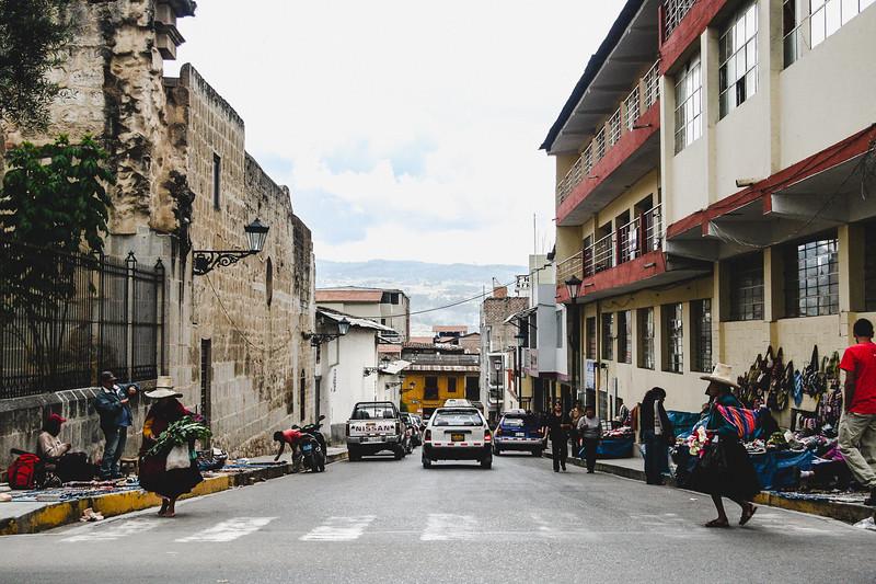 Side Street of Cajamarca