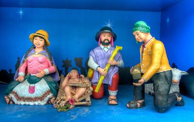 Nativity Scene, Lima, Peru.