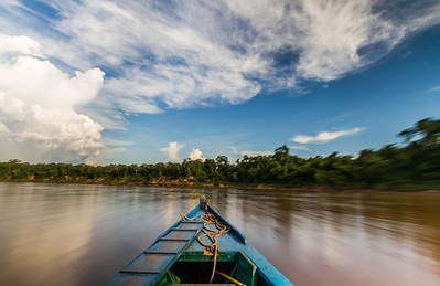 Cruising The Tambopata River, Peru