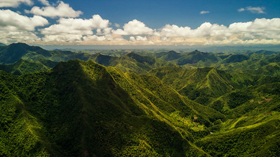 Batad, Philippines (aerial photo)