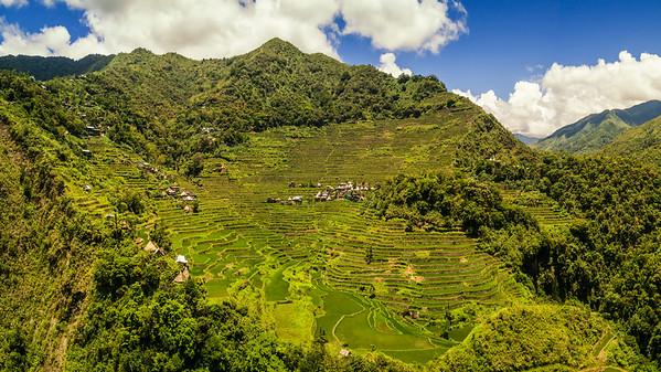 Batad, Philippines (aerial photo)
