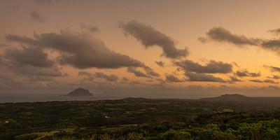 Itbayat 28: Sunset view overlooking Batan island