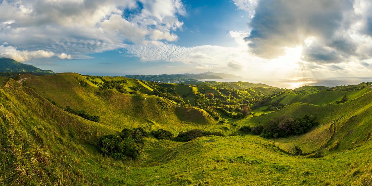 Batan 19: Green rolling hills