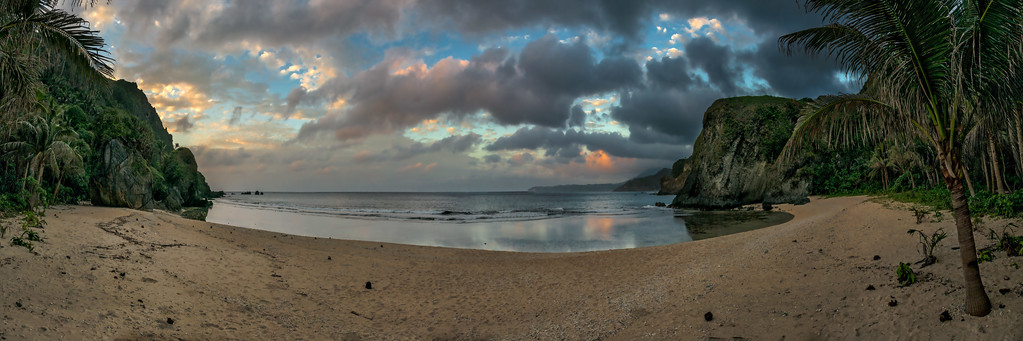 Batan 7: A lonely beach sunset