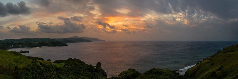 Batan 8: Sunset view from the Naidi Hills lighthouse