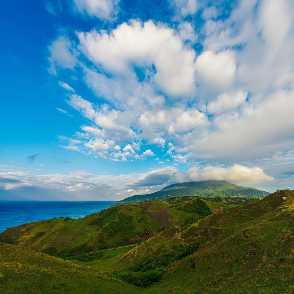 Batan 11: Rolling Hills with Mt Iraya