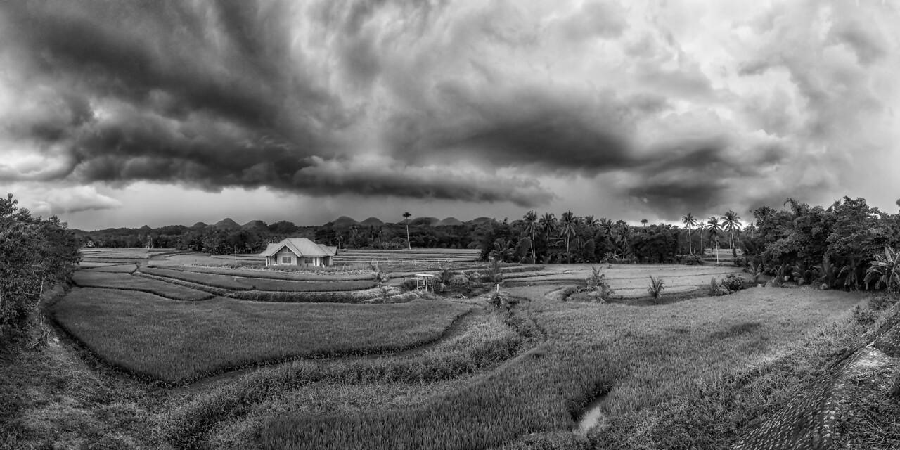 Bohol 05 - Stormy Sky