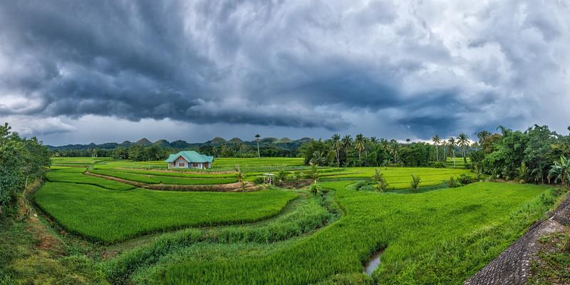 Bohol 04 - Stormy Sky