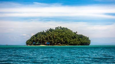 Island near Sugba Lagoon