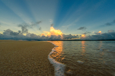Sunrise at Guyam Island