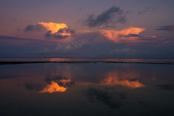 Sunset view at General Luna